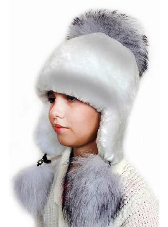 """Детская шапка """"Белоснежка"""""""