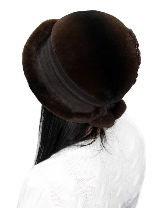"""Меховая шляпа """"Дарлиса"""""""
