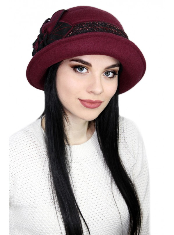"Шляпка ""Марсала"""