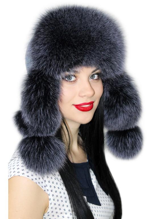 """Ушанка """"Снежная метель"""""""