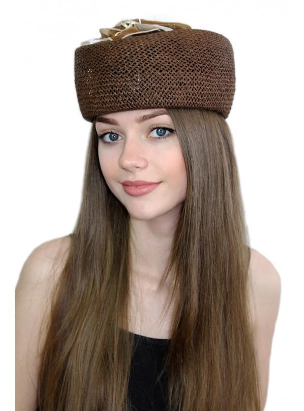 "Шляпка-таблетка ""Аквелина"""