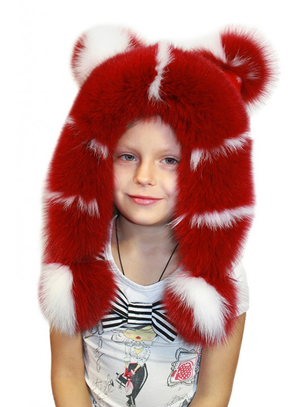 """Теплая шапка """"Бемби"""""""