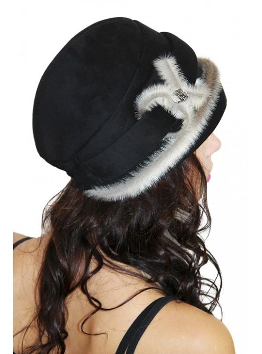 "Замшевая шапка ""Элен"""