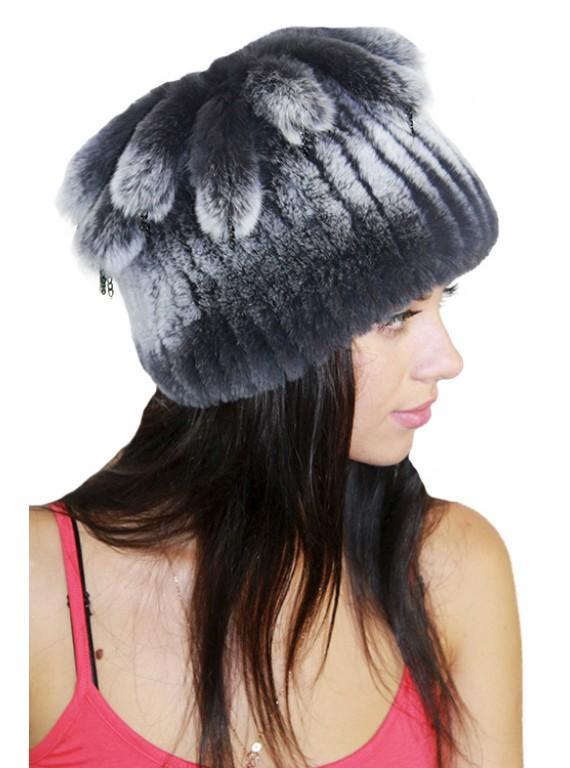 """Модная шапка """"Фелиция"""""""