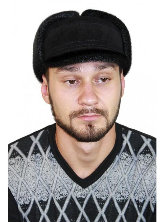 "Зимняя шапка-ушанка ""Густав"""