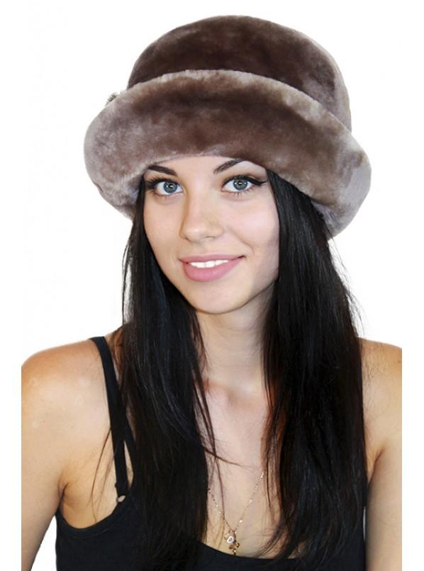 """Меховая шляпка """"Керсти"""""""