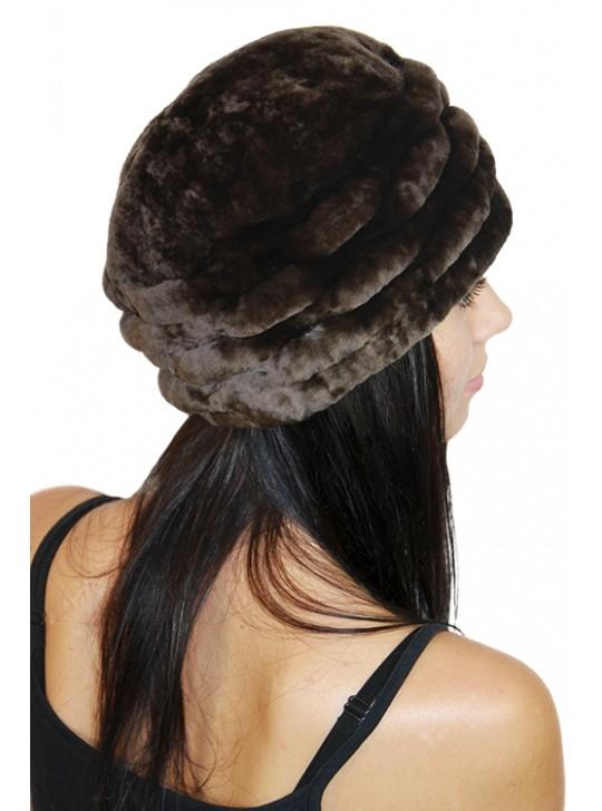 """Мутоновая шапка """"Кэтлин"""""""