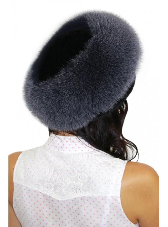 """Теплая шапка """"Лара"""""""
