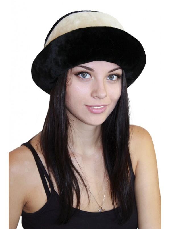 """Мутоновая шляпка """"Лила"""""""
