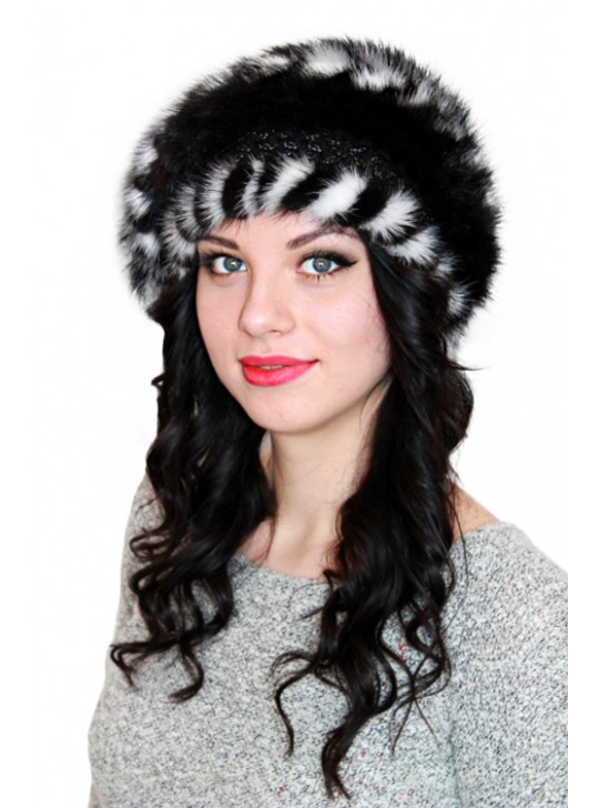 """Норковая шапка """"Линни"""""""