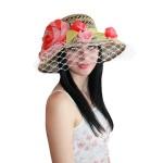 """Шляпа с вуалью """"Магнолия"""""""