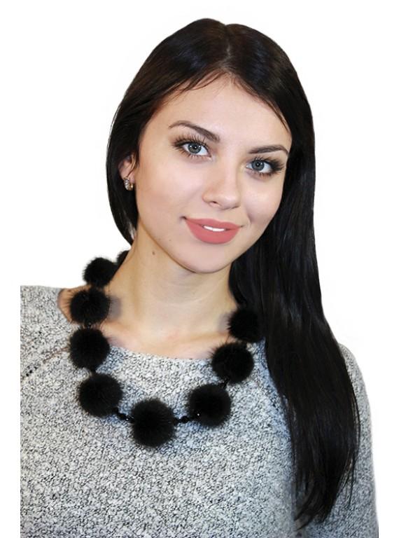 """Меховое ожерелье """"Сильва"""""""