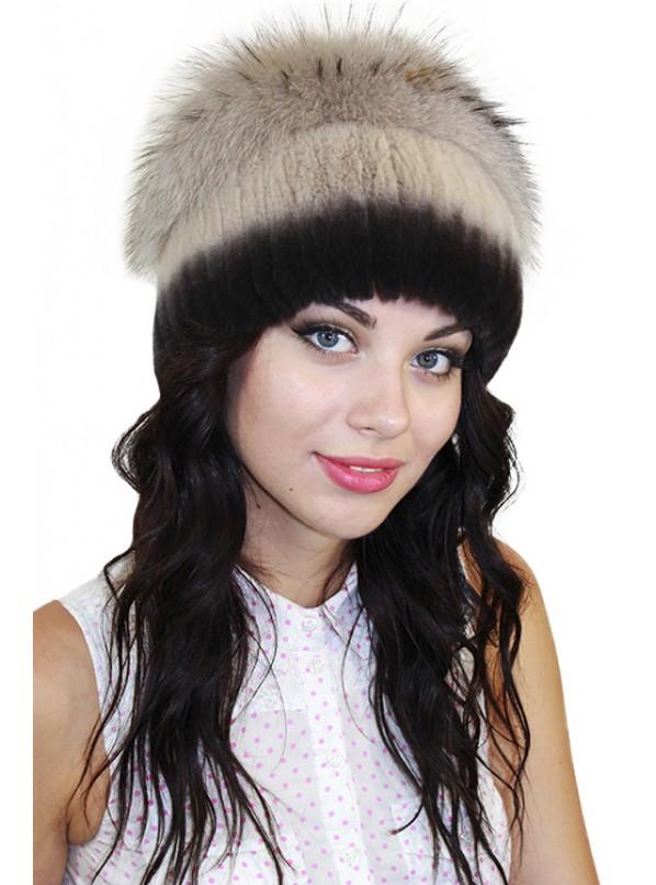 "Меховая шапка ""Тифани"""