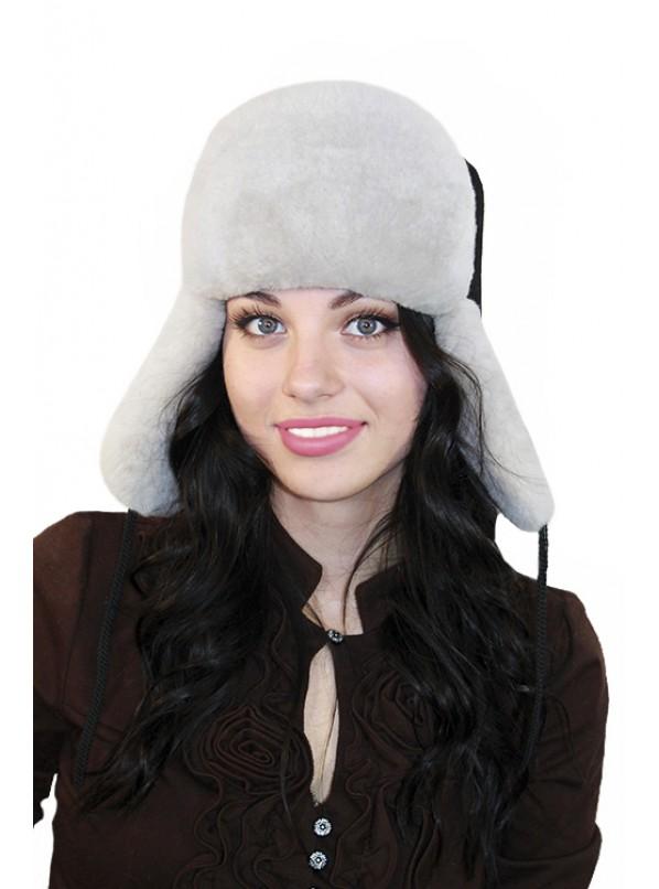 """Меховая шапка """"Ушаночка"""""""