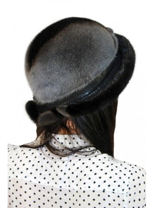 "Шляпа из норки ""Аквамарин"""