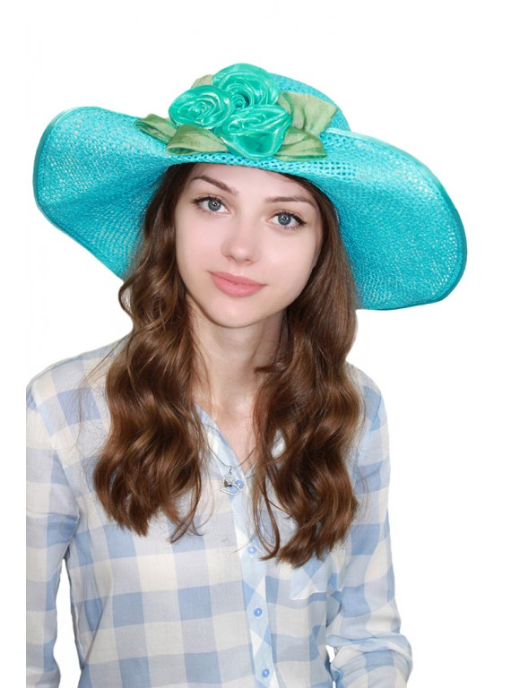 """Шляпа """"Бирюза"""""""