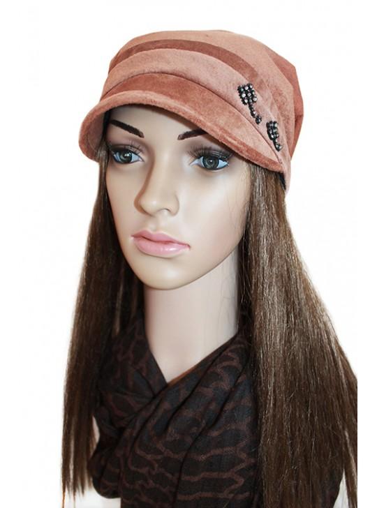 """678, Бандана """"Джуллиан"""", 1315, 1 350.00 р., Бандана """"Джуллиан"""", Top-hats, Женские шапки"""