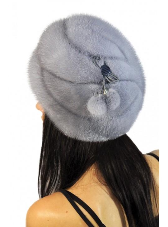 """Меховая шапка """"Иветта"""""""