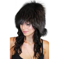 Модные зимние шапки, натуральный мех как выбор молодежи