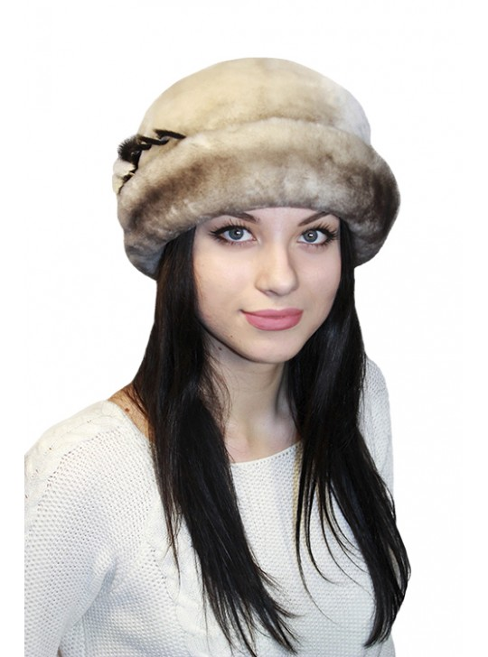 """Мутоновая шляпка """"Майли"""""""
