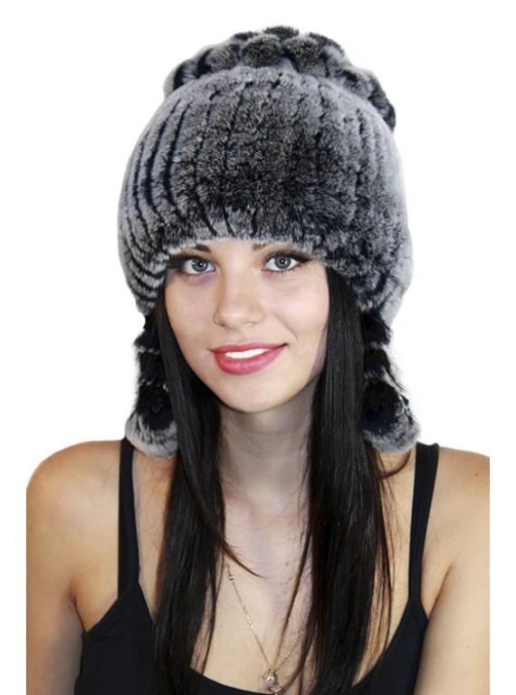 "Меховая шапка ""Снегурочка"""