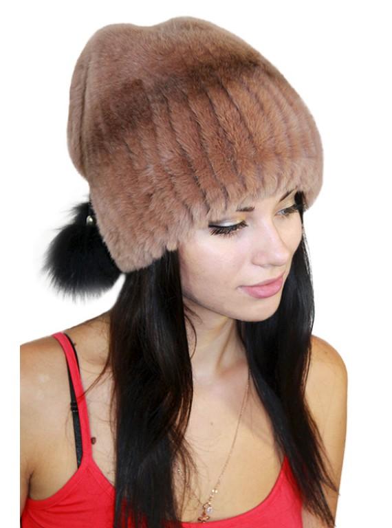 """Роскошная шапка """"Вилена"""""""